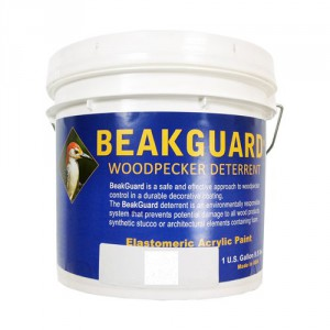 Beakguard Woodpecker Deterrent Paint